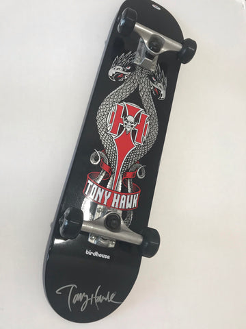 Tony Hawk signed birdhouse skateboard