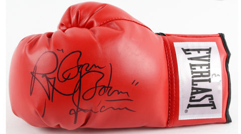 Ray Mancini signed Everlast boxing glove