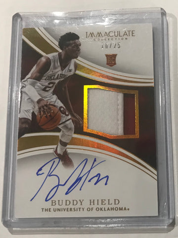 Buddy Hield immaculate rookie auto