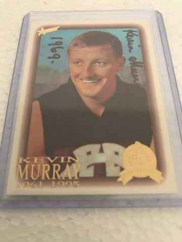 Kevin Murray signed Hall of fame card.