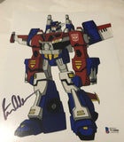 Signed Peter Cullen Transformer memorabilia