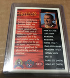 Bob Skilton signed hall of fame card