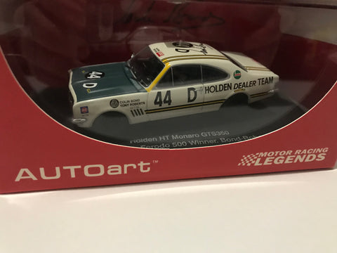 Colin Bond triple signed Bathurst winning Monaro