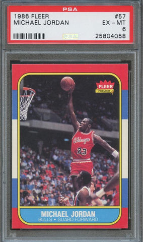 Michael Jordan rookie card