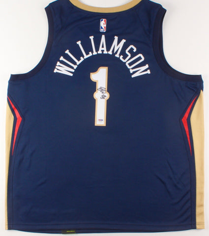 Zion Williamson Signed New Orleans Pelicans Jersey