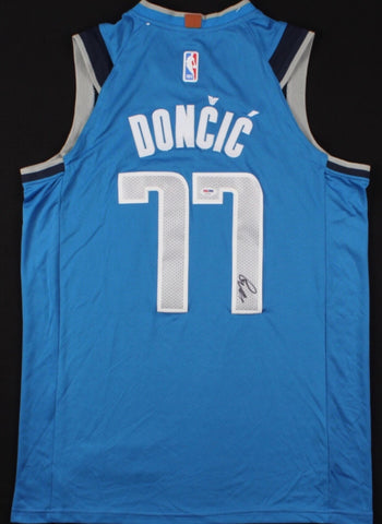 Luka Doncic Signed Dallas Mavericks Jersey