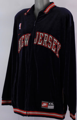 Richard Jefferson's New Jersey nets warm up jacket