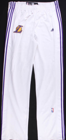 Lamar odom game used team issues lakers pants