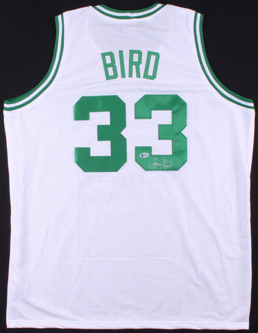 Larry Bird signed jersey