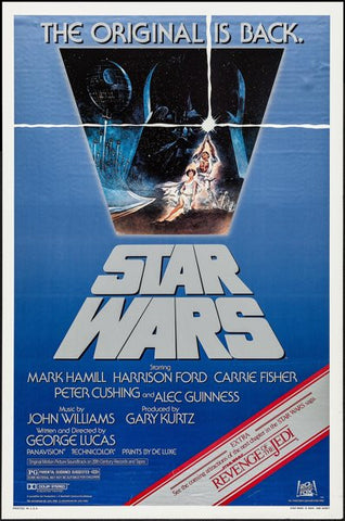 "Star Wars-The Original is Back"" movie poster"