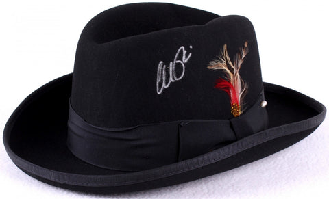 "Al Pacino Signed ""The Godfather"" Movie Prop Replica Black Fedora Hat"