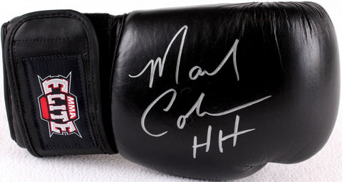"Mark Coleman Signed MMA Elite Boxing Glove Inscribed ""HH"""
