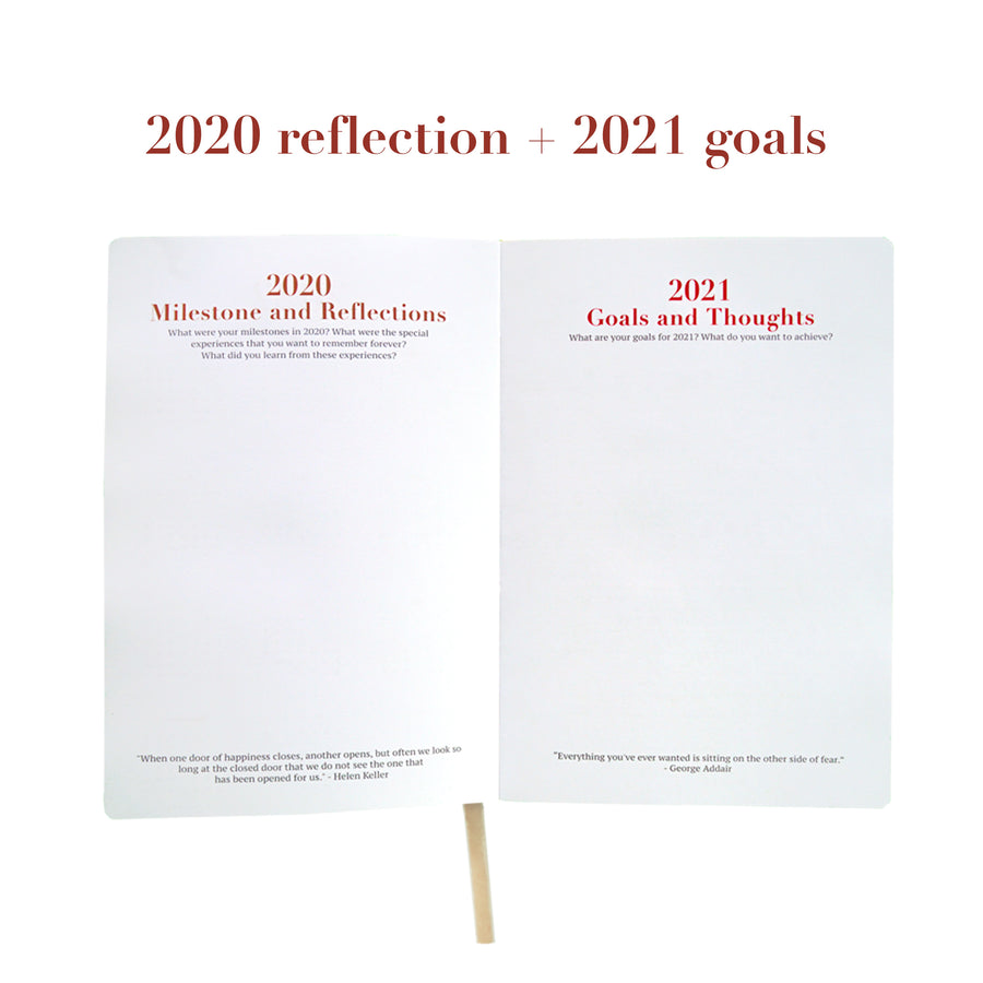 Cloud Grey 2021 Planner
