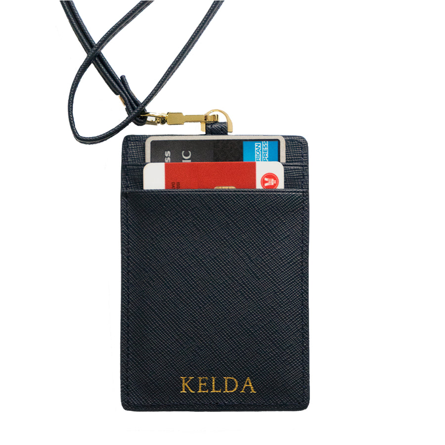 Navy Blue ID holder