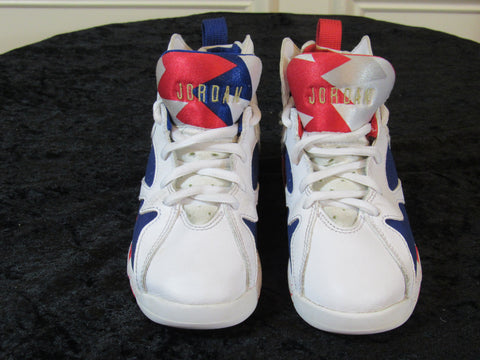 055426766251be Sold Out JORDAN Air Retro 7 (304773-133) Red White Blue SIZE 13C Youth  Sneakers