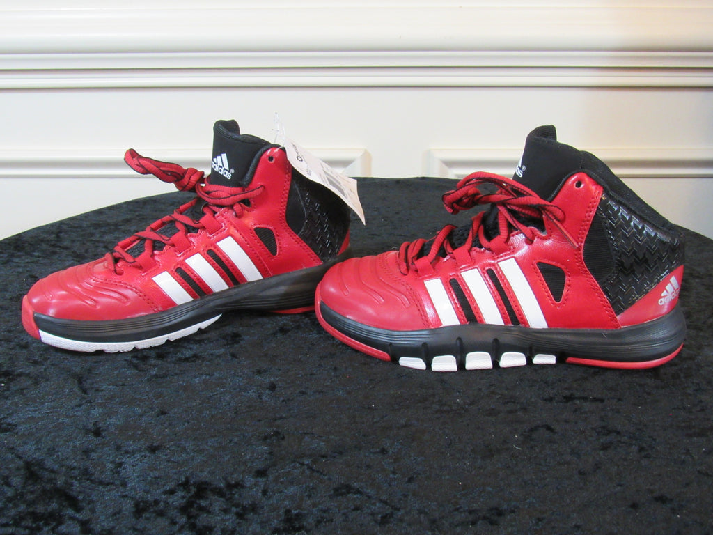 huge selection of 64935 a6332 ... ADIDAS Adipure Crazy Ghost Red Black White Youth Sneakers SIZE 1Y ...