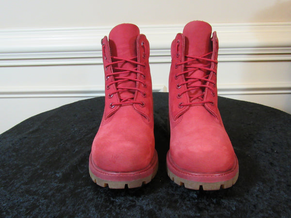 TIMBERLAND Men s Casual Boots  Red Release Collection All49 6
