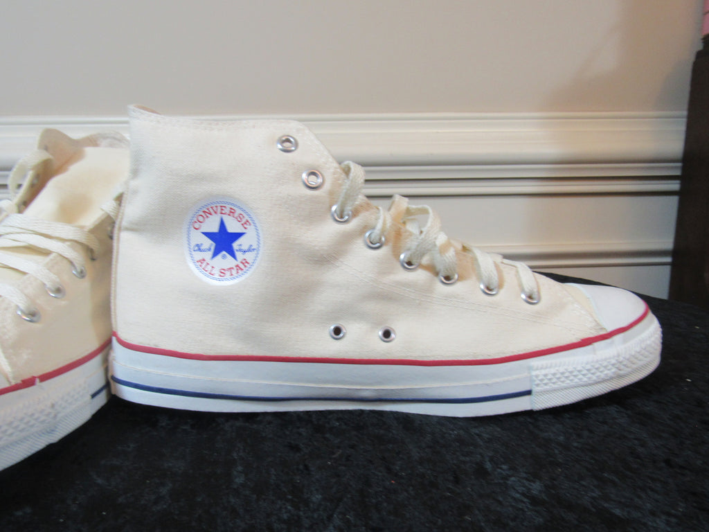 641ab0548a0b1a ... 13  CONVERSE Chuck Taylor All-Star Off-White Men s Sneakers SIZE ...