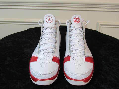 f48bc1b8a7f67d Sold Out JORDAN 23 XXIII (318376-161) White   Varsity Red   Silver Men s  Sneakers