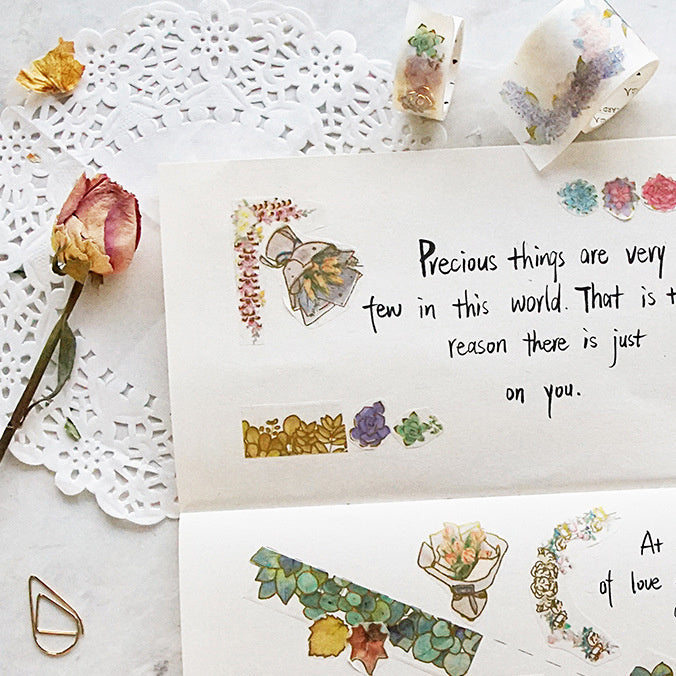10 Gold Foil Washi Tape Embellish your planner or bullet journal with these awesome stickers