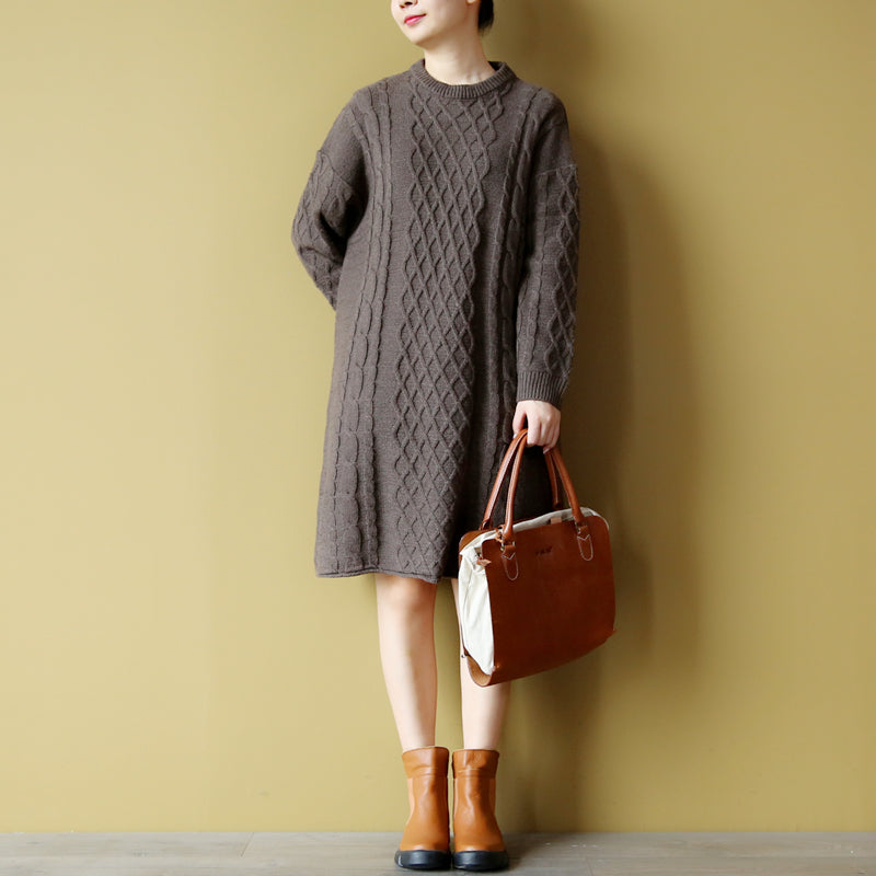 Classic jacquard zen wool sweater