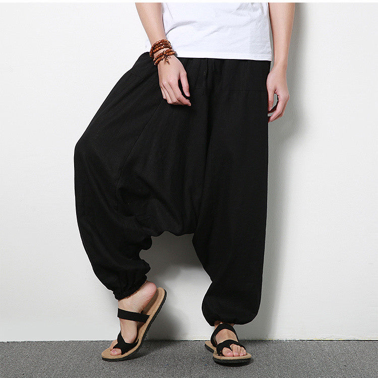 Men 's trousers flamenco harem pants