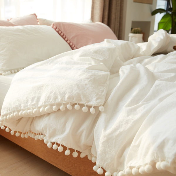 washing cotton covered sheet set
