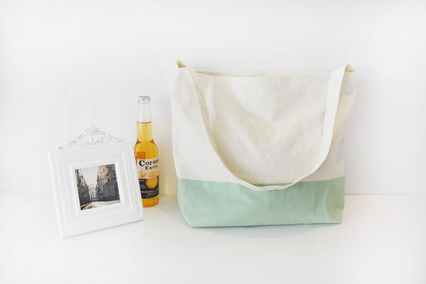 Two-tone Canvas bag