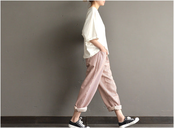 Hyde stripe joker turnip pants