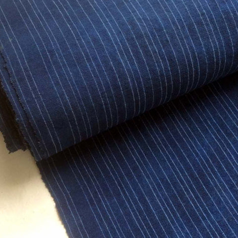 Ora stripe blue dye