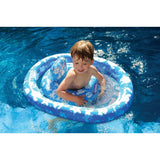 Swim Ring With Seat Blue