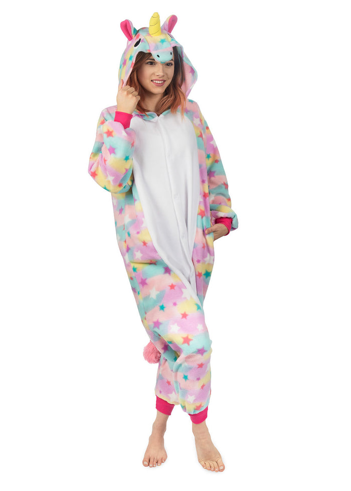 Adult Onesie - Unicorn - Rainbow