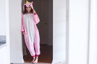 Adult Onesie - Unicorn - Pink