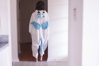 Adult Onesie - Unicorn - Blue - White