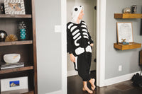 Adult Onesie - Skeleton