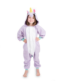 Kids Onesie - Unicorn - Purple