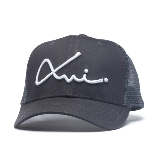 Charcoal Cotton XVI Signature Trucker