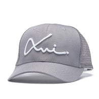 Grey Cotton XVI Signature Trucker