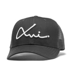 Black Cotton XVI Signature Trucker