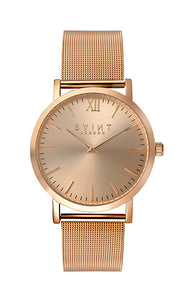 Chelsea Rose Gold, Rose Gold Sunray Dial