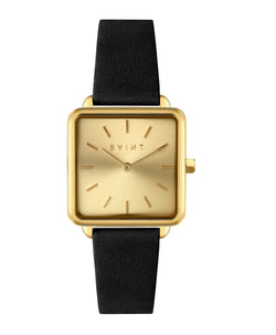 Kensington Gold, Black Leather