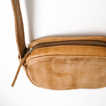Anja leather bag - tan