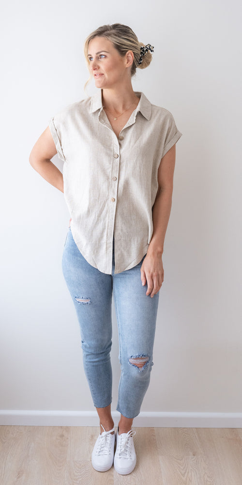 Emmy shirt - natural