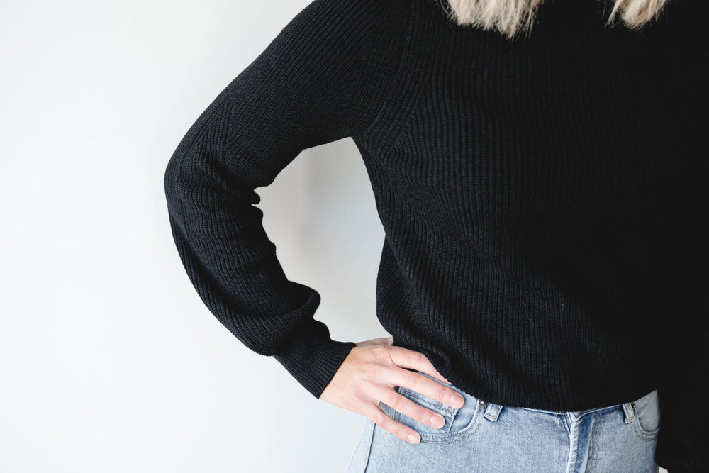 Carmen knit - black