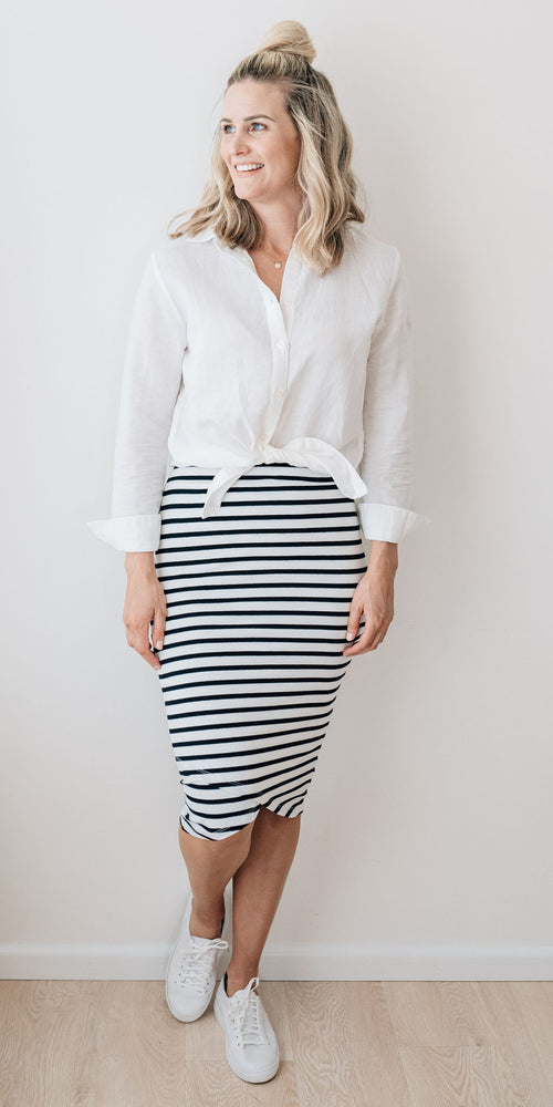 Blair skirt - stripe