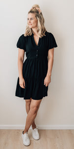 Athena dress - black