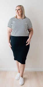 Blair skirt - black