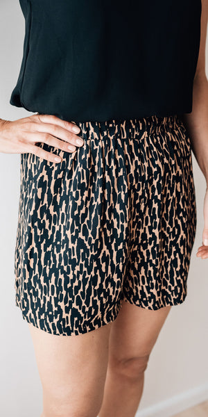 Camille shorts - print