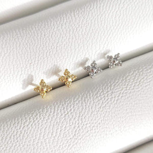 Frankly My Dear - Zelda - 14ct gold plated studs