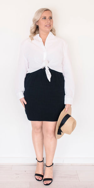 Arlo skirt - black